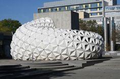 ArboSkin Pavilion Demonstrates New Bioplastic Solutions — Materialist