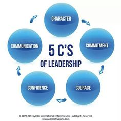 WoW  the 5 c's of leadership