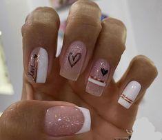 Acrylic Nails Coffin Pink, Stiletto Nails, Coffin Nails, Gel Nails, Manicure E Pedicure, Nail Spa, Mani Pedi, Diamond Nails, Elegant Nails