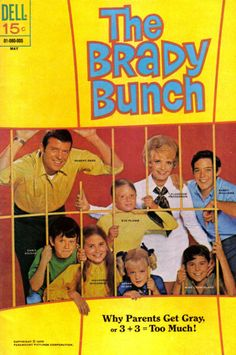 "The Brady Bunch: Greg, Peter, Bobby, Marsha, Jan! Cindy, Alive the housekeeper, Sam the Butcher. Mike And Carol Brady.....phew.!  Oh yeah....Tiger the family dog too! LOL I am. Geek!   ""Pork chopssssss and apple sauce""  Pinterest wouldn't let me up all the lyrics but I knew them.....along with the names!!!!! Phew!"