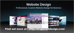 Affordable Website Design,Graphic Design,Logo Design and SEO Services Calgary - http://dragonartdesign.com/ #WebDesign