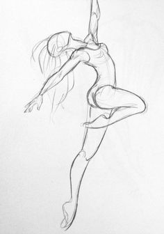 Yenthe Joline Art • Some dancer sketches. For some I used some photo's...