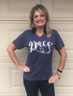 Grace v neck  T Shir