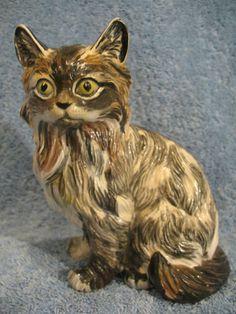 TORTOISHELL CAT ~ JO'AL POTTERY LONDON 1980's