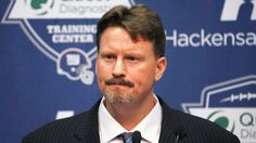 A confident Ben McAdoo has taken over as the New York Giants coach, saying Friday he is the right man for the job.