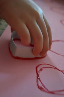 Plain and simple ~ Heart Prints! -  Pinned by @PediaStaff – Please Visit http://ht.ly/63sNt for all our pediatric therapy pins