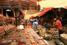 Zanzibar, Tanzania Spice Market.