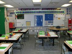 Holy Cow this website is incredible! Pictures, files, and descriptions of how to set up/use a 5th grade classroom. So inspiring!
