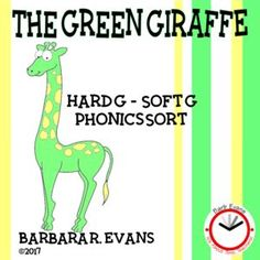 Sounds of g phonics sort for your smartboard.