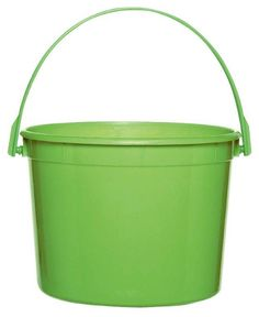Kiwi Green Favor Bucket from BirthdayExpress.com