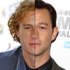 I'm not convinced that Heath Ledger and Joseph Gordon-Levitt arent the same person.