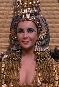 """Elizabeth had 65 costume changes, a then-record for a movie.   15 Things You Might Not Know About The Movie """"Cleopatra"""""""