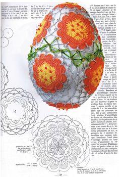 Плетени облекла за великденски яйца | Сайт за ръчно хоби