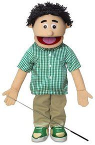 ''Kenny'', 25In Full Body Puppet, Peach -Affordable Gift for your Little One! . Available at OurPamperedHome.com