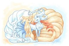 DeviantArt: More Collections Like Pokemon - Alola Ninetales, Alola Vulpix by pauldng