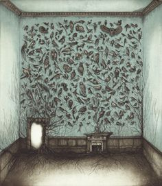 Caroline Donohue, Reclaiming what was mine, etching & aquatint,
