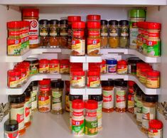 Spicy Shelf Helps Organize Spice Cabinets, Medicine Cabinets, and More