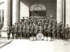 Texas A & M's Fightin' Texas Aggie Band in 1925