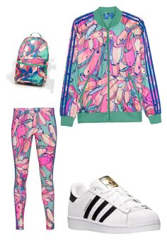 """""""Untitled #1372"""" by antoniajulia on Polyvore featuring adidas Originals and adidas"""