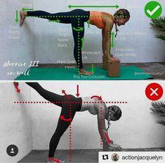 Warrior 3 on wall | yoga #YogaMeditation