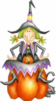 THE WITCH IS IN • | CLIP ART - HALLOWEEN 2 - CLIPART | Pinterest ...
