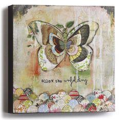 "Kelly Rae Roberts 6"" Wall Art-Unfolding"