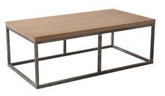 Armen Living Sahara 52.5 x 28 Rectangular Coffee Table