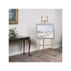 DR Series Decorative Brass Poster Easel