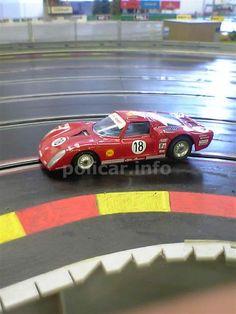 Slot Alfa Romeo 33/2 Daytona restaurata da Antonio Avanzini