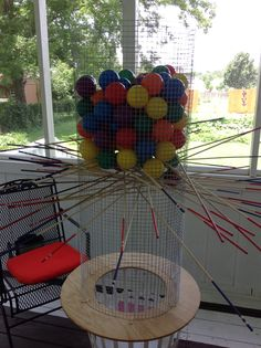 DIY, Life-Size Kerplunk Game - Family and Friends let me know if you want to use it.