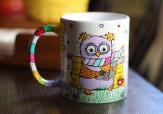 Gift Owl Mug Daughter Best Gift Dad Christmas gift from daughter Christmas Husband Gift Best Friend Mug Cup Gift Husband Motivational Mug