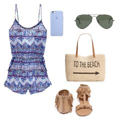 """""""Untitled #12"""" by molly-grace-lindsey ❤ liked on Polyvore featuring Victoria's Secret, Qupid, Ray-Ban and Style & Co."""