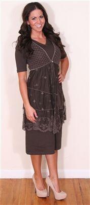 The Natalie Modest Dress: Church Dresses, Vintage Dresses, Modest Apparel