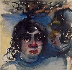 Self-portrait, Elfriede Lohse Wächtler