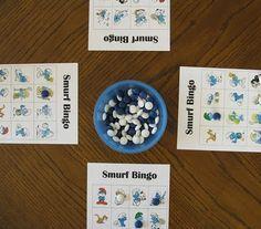 Smurf Bingo