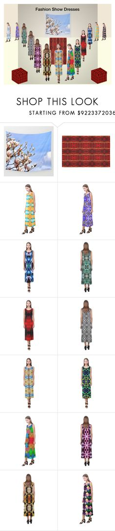 """""""Fashion Show Dresses"""" by costasonlineshop ❤ liked on Polyvore featuring modern"""