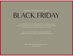 black friday 2014 clothing gap - Google Search