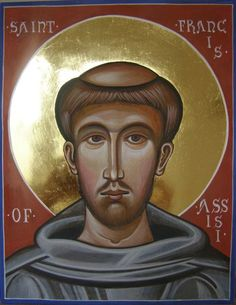 icon st francis assissi painting - Google Search