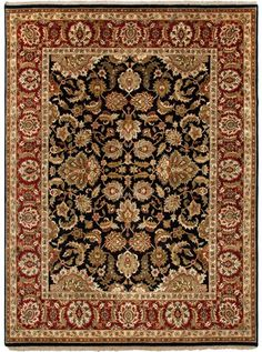 This Atlantis Taj Collection rug (AL12) is manufactured by Jaipur. Most popular collection by Jaipur, Atlantis, merges traditional patterns with sophisticated and distinctive color stories rooted in blue, brown, ebony, gold, and red.