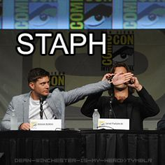 Jensen and Jared - they're slowly becoming Dean and Sam...
