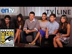 """Glee"" Cast at Comic-Con: Lea Michele, Darren Criss' Beard, Season 4 Teasers & More"