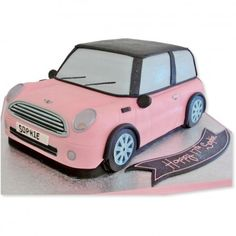 Mini Car Cake there's even my name on it ;)