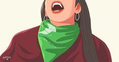 De aprobarse, se trataría de la legislación del aborto más progresista de Latinoamérica. Power Girl, Suffragette, Arte Pop, Social Issues, Powerful Women, Strong Women, Human Body, Equality, Hello Kitty