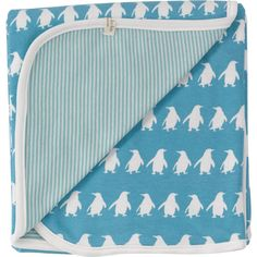 Pigeon Organics reversible penguin blanket (the blanket is reversible, not the penguins - although penguins *do* go in reverse as well!). Love this to bits, but it's out of stock. My love of cute blankets appears to be approaching my love of fabulous cushions (i.e. becoming somewhat of an obsession)...