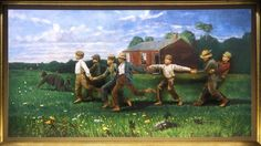 """Pageant of the Masters to re-create """"Snap the Whip"""" by Winslow Homer in the 2015 production """"The Pursuit of Happiness."""""""