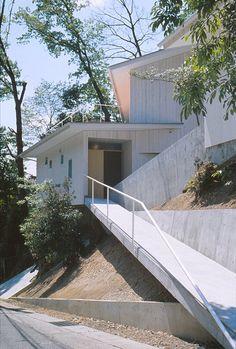 Ship House | Nishinomiya-City, Hyogo, Japan | Katsuhiro Miyamoto & Associates