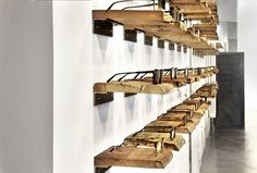 Tablettes - Filia76 eyeware store by Claudia Weber, Kassel Germany eyewear store design