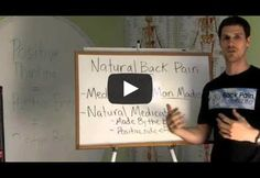Natural Back Pain Relief http://www.backpainrelief4life.com/blog/2012/11/15/natural-back-pain-relief/