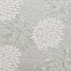Artistic Tile Jazz Glass Collection - Estrella Be Bop White - Tile - Other Metro - Artistic Tile