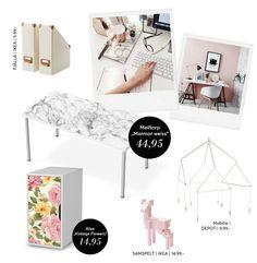 Beklebe deinen Tisch mit einer #Klebefolie / #Designfolie und verleihe deinem #Arbeitsplatz zusammen mit passender Deko die perfekt-entspannte Arbeits-Atmosphäre! Mehr dazu in unserem Blog...